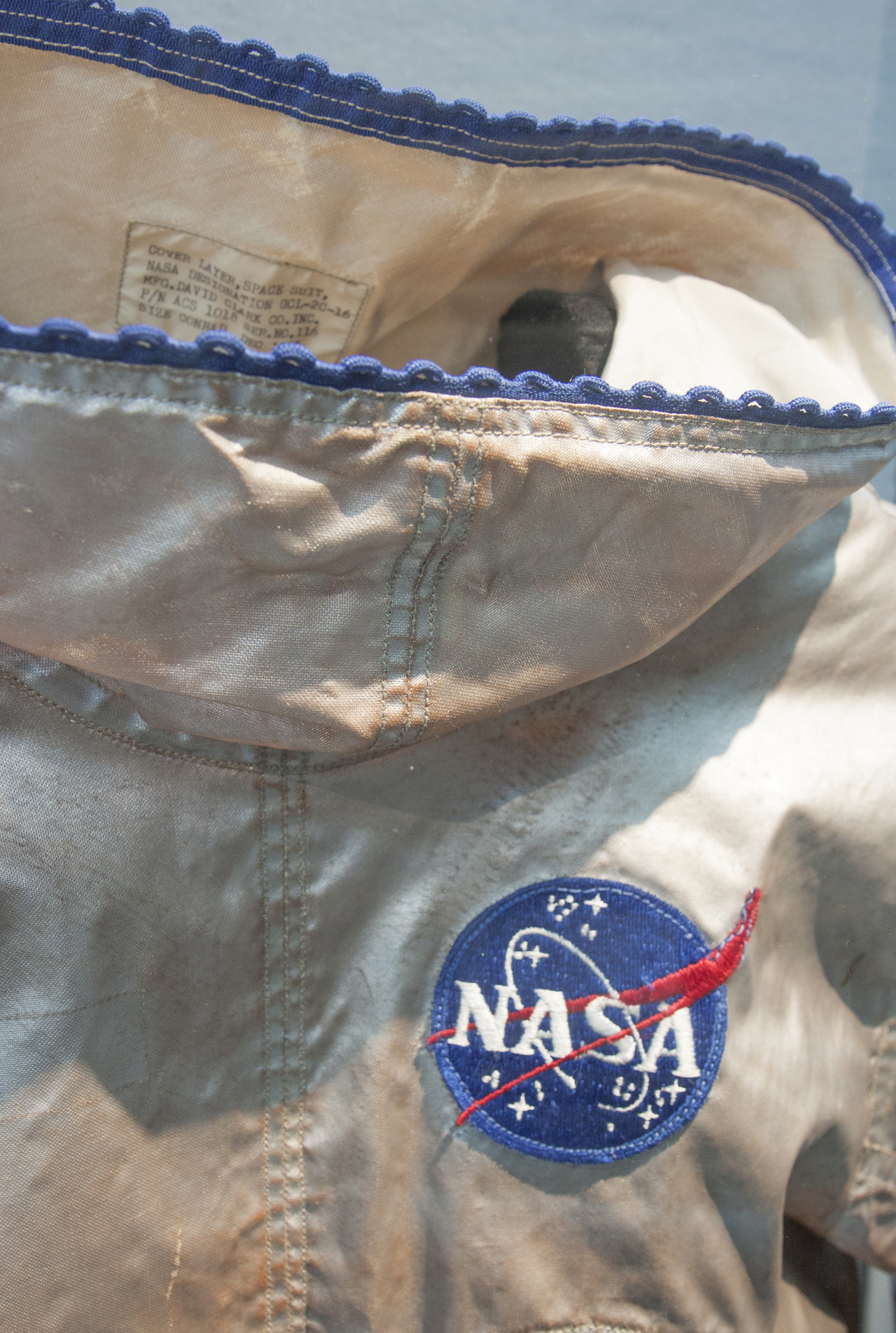 Pete Conrad Space Suit Liner